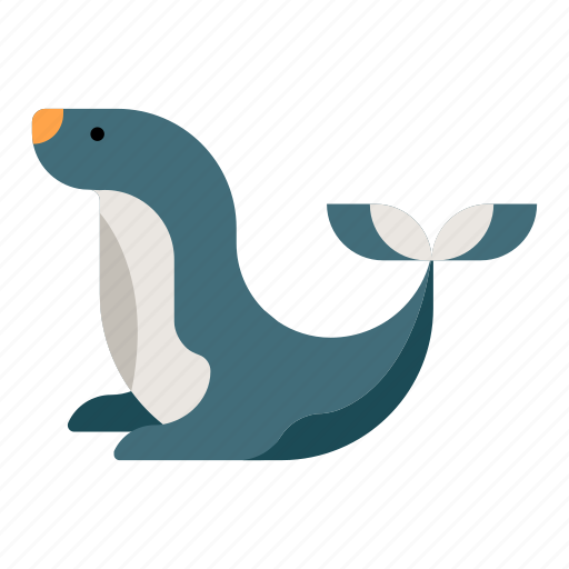 animal, mammal, sea lion, seal, water, zoo icon