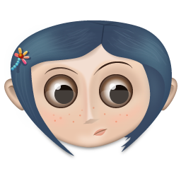 Coraline Girl User Icon