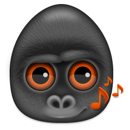 animal, gorilla, monkey icon