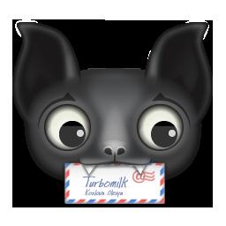 Animal Bat Mail Icon