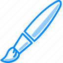 brush, color, draw, drawing, graphic, painting, tool icon