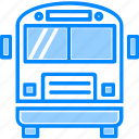 bus, car, coach, school, transportation, travel, universal icon