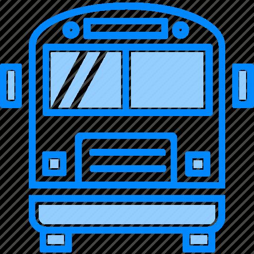 bus, car, coach, school, transportation, travel, universal icon