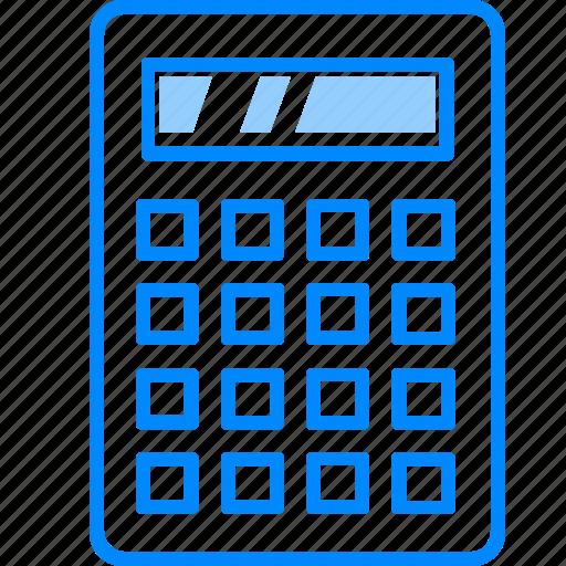 accounting, busniess, calc, calculator, education, mathematics, school icon