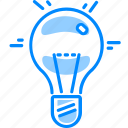 brainstorming, bulb, creative, electric, electricity, idea, lamp, power icon
