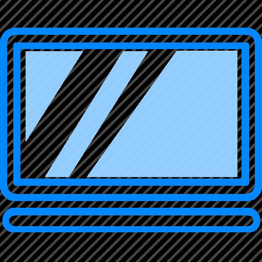 device, mac, macbook, notebook, pc, pro, screen, technology icon