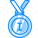 achievement, badge, best, gold, medal, reward, win, winner icon