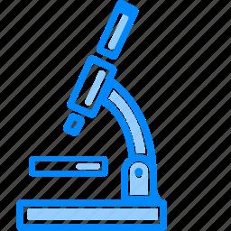 biology, equiment, lab, laboratory, microscope, scientific icon