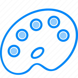 draw, drawing, plate, platte, platter, pot icon
