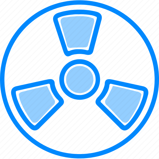 attention, caution, danger, radiation, science, warning icon