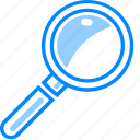 find, magnifer, magnifying, optimization, search, view, web, zoom icon
