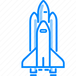 launch, nasa, rocket, science, shuttle, space, spacecraft, startup icon