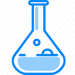 chemical, chemistry, flask, lab, medical, research, tube icon