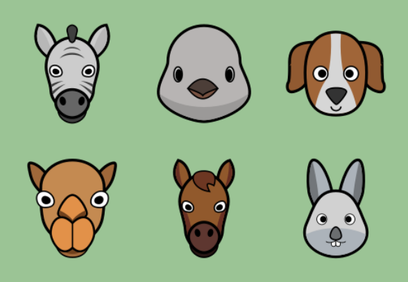 Animals Icons By Thiago Silva