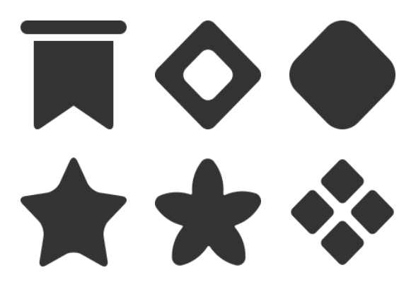 bullet points icons by web1 technology
