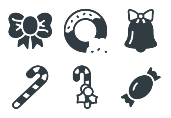 Free Glyph Christmas Icons Icons By Alpar Etele Meder