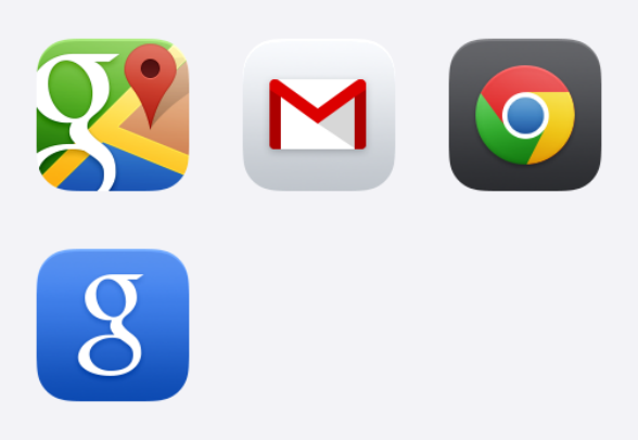 Google Ios 7 App Icons Icons By