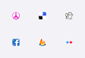 Color pencil web 2.0 icons