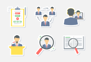 office & business Sticker icons PART -2
