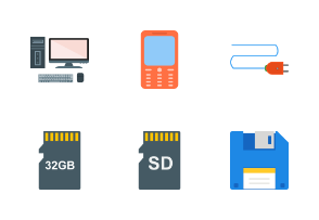 5 - Data & Devices FLat Multicolor