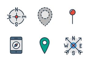 aami flat: Map, Pins and Navigation