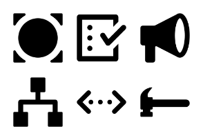 Action Vector Icons Set 1
