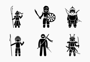 Ancient Soldiers and Warriors