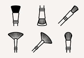 Art & Design - Brushes (glyph)