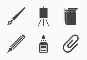Art supplies - Glyph