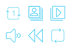 Audio-Visual - Material Design Icons