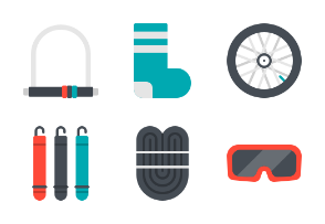 Bicycle accessories flat