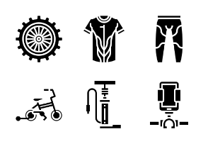 Bicycle Glyph