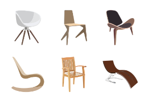 Chair Icons v3