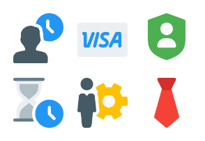 Business and Finance Color Set