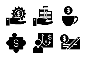 Business and Finance Glyph 14