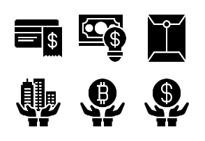 Business and Finance Glyph 15