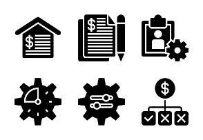 Business and Finance Glyph 26