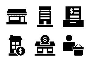 Business and Finance Glyph 33