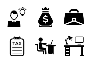 Business and Office (Black Version)