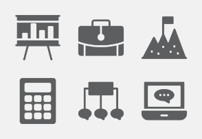 Business and Office Glyphs vol 2
