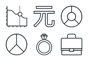 Business & Finance - Stroke Icons