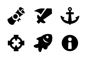 Casual Game Glyph