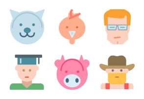 Characters 1/2 Flat