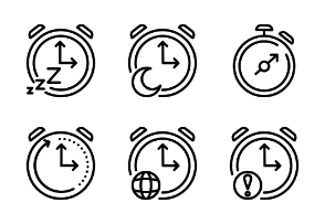 Clock, Time and Process