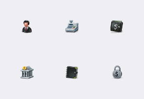 Commercio - Business and e-Commerce Icon Set