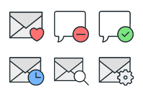 Communications - Color Icons