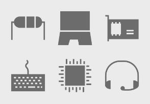 Computer Hardware Glyphs vol 1