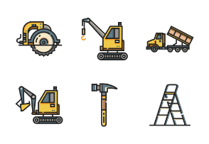 Construction Tool Line Color - Foreman Equipment