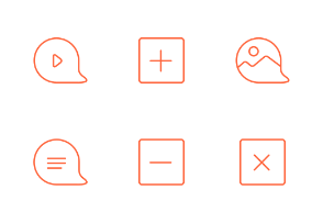 Content icons