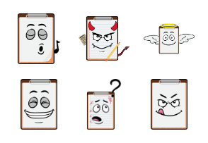 Copy Paste Clipboard Emojis